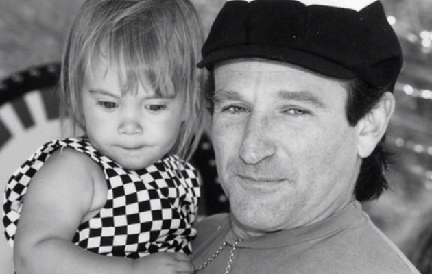 "Robin Williams' Final Tweet Was Dedicated to His ""Baby Girl"" Zelda"