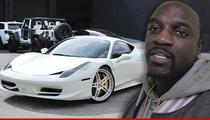 Akon -- Repo Man Gunning for Ferrari in Upside Down Car Deal