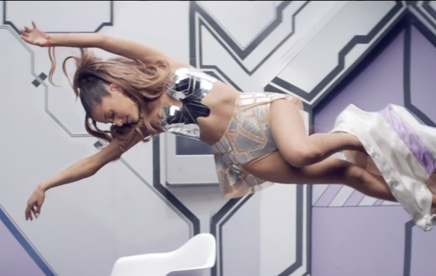 """Ariana Grande Shows MAJOR Skin in """"Break Free"""" Music Video"""
