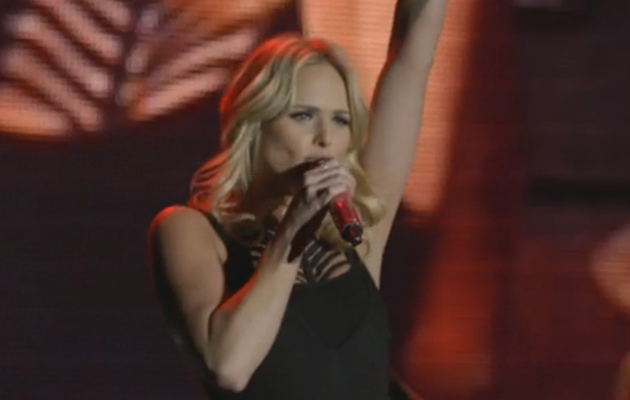 "Miranda Lambert Shows Sexy Side in Live Performance of ""Little Red Wagon"""