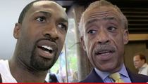 Gilbert Arenas -- Calls Rev. Al Sharpton a 'Coon' ... Over Michael Brown Protests