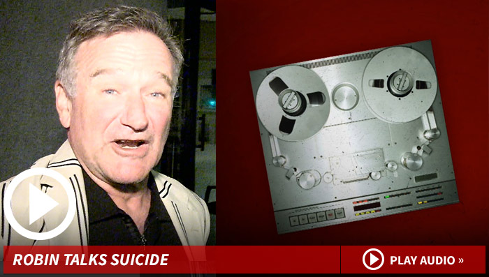 Robin Williams Suicide