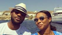 LeBron James -- Flies Wife to Greece ... Reveals New Baby Name