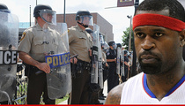NBA Champ Stephen Jackson -- Ferguson Cop Must Have Dreamed Of Killing a Black Man