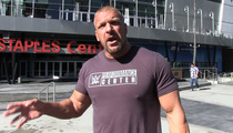 Triple H -- Ice Bucket Challenge Haters Can Suck It!
