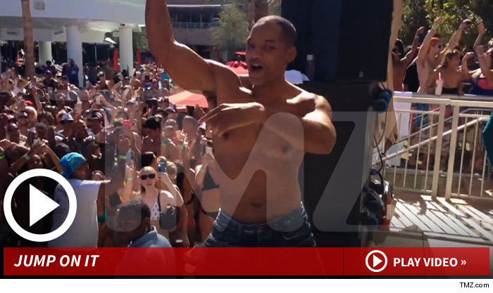 Will Smith Pectacularly Performs 'Summertime' in Vegas (Awesome Video!)