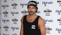 Brody Jenner Sports Creepy Mustache at Las Vegas DJ Gig -- Like the Look?