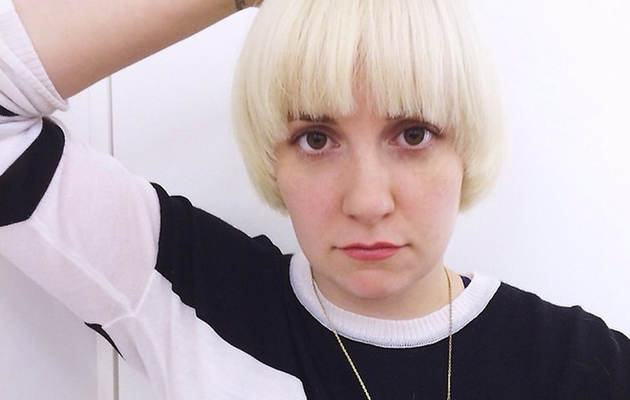 Lena Dunham Dyes Hair Platinum Blonde -- See Her Drastic New 'Do!