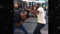 Mike Tyson -- Slap Boxes Jon Jones ... Wins
