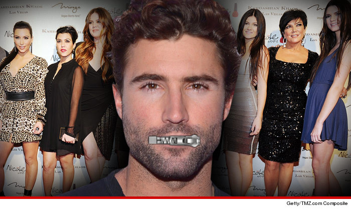 Brody Jenner Not Talking Kardashians