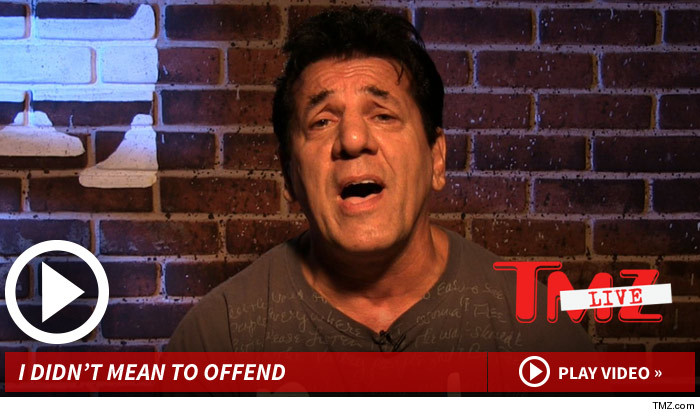 Chuck Zito Apology