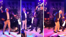 John McCain -- GOES FULL CYBORG .... Busts Out Robot At Hamptons Dance Party