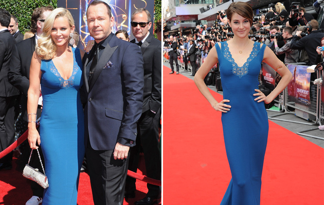Dueling Dresses: Jenny McCarthy vs. Shailene Woodley