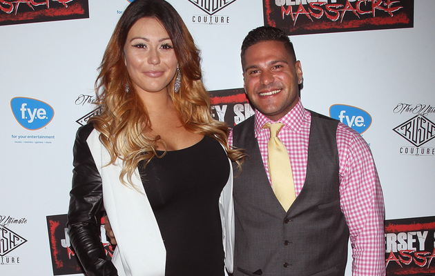 "JWoww Reunites With MTV Costar at ""Jersey Shore Massacre"" Premiere"