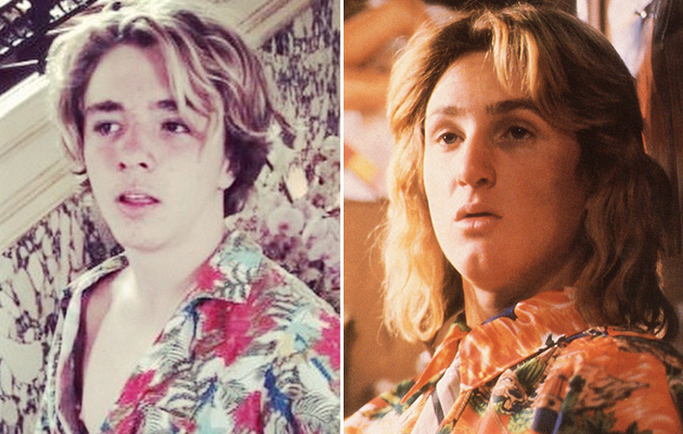 "Madonna's Son Rocco Channels Ex Sean Penn's ""Ridgemont High"" Character"
