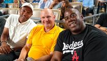 Magic and Doc -- DONALD WHO? ... Hit Baseball Game with New Clips Owner