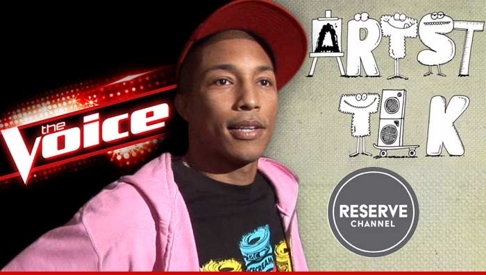 Pharrell Williams YouTube Show The Voice
