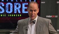 Ernie Johnson -- My Shaq Impression ... IS INCREDIBLE! (Video)