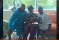 Cam Newton -- Surprise Hospital Visit ... For Injured H.S. Quarterback