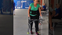 Amy Van Dyken -- I'M WALKING ... With Bionic Legs!