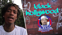 Wiz Khalifa -- Presiding Over Mayoral Race of Black Hollywood