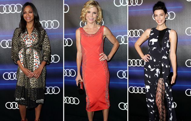 Zoe, Julie & Jessica Stun at Audi Pre-Emmy's Event -- See All The Star-Studded Photos!
