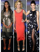 Zoe, Julie & Jessica Stun at Audi Pre-Emmy's Event -- See All The Star-St