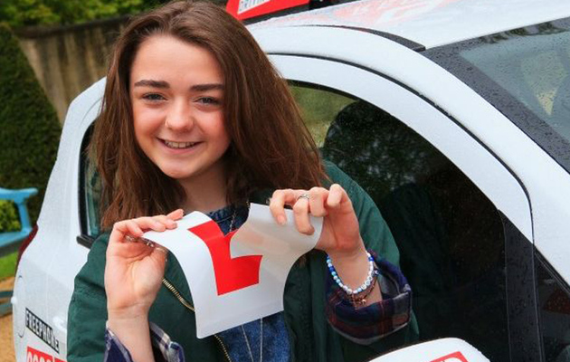 """Game of Thrones"" Star Maisie Williams Passes Her Driving Test"