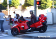 Justin Bieber -- Illegally Drives Can Am On Sidewalk ... Almost Hits Disabled Wo