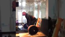 Hugh Jackman -- DEADLIFTING 400 POUNDS