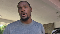 Kevin Durant -- I'm NEVER Acting Again ... Especially After 'Thunderstruck'