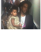 Jay Z and Blue Ivy Spotted Backstage Before Beyonce's MTV VMA Performance