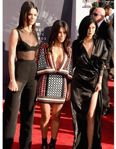 Kendall, Kim & Kylie -- Who Looks the Best at MTV VMAs?