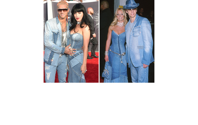Katy Perry & Riff Raff Channel Britney Spears & Justin Timberlake At 2014 VMAs!