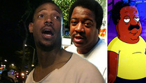 Marlon Wayans -- But Your Honor, the Dude Looks Like Cleveland! No?