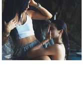 Kendall Jenner Flaunts Sexy Bikini Bod in Poolside Pic With Kylie