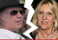 Neil Young -- Divorcing After 35 Yea