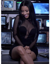 "Nicki Minaj Flaunts Killer Curves in Usher's ""She Came to Give It To You"" Music Video"
