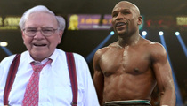 Floyd Mayweather Jr. & Warren Buffet -- First Meeting of the MAKE MORE Money Team