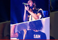 Harry Styles -- Rocks Michael Sam Jersey ... At St. Louis Concert