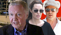 Brad Pitt & Angelina Jolie Wedding -- Jon Voight NOT Invited!