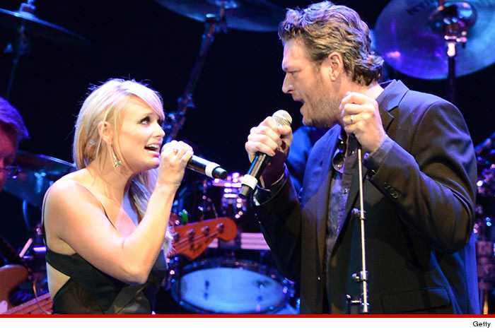 0828 miranda lambert blake shelton getty 4 Blake Shelton & Miranda Lambert    Take Your Million And Shove It ... Reject Huge Vegas Offer