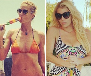 Happy Labor Day -- See The Best Celebrity Beach Bods!