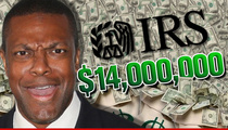 Chris Tucker -- Runs Up Additional $14 MILLION Tax Tab!!