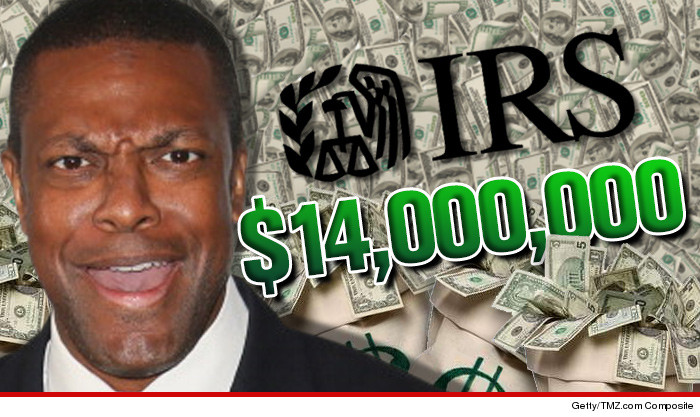 0829 chris tucker fa getty tmz 4 Chris Tucker    Runs Up Additional $14 MILLION Tax Tab!!
