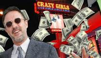 David Arquette -- Mo Money, Mo Girls ... Buys Crazy Girls Strip Club