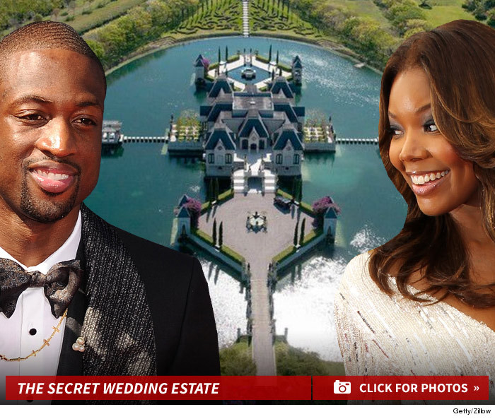 Dwyane Wade Gabrielle Union Wedding Location