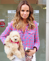 Kristin Chenoweth Debuts Long Ombre 'Do -- Like The Loo