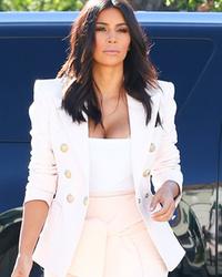 Nobody But Kim Kardashian Would Wear This to Get Frozen Yogurt