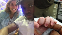 Boxer 'Kid Chocolate' -- My Wife's the Real Champ ... After 36 Hour Labor!!!